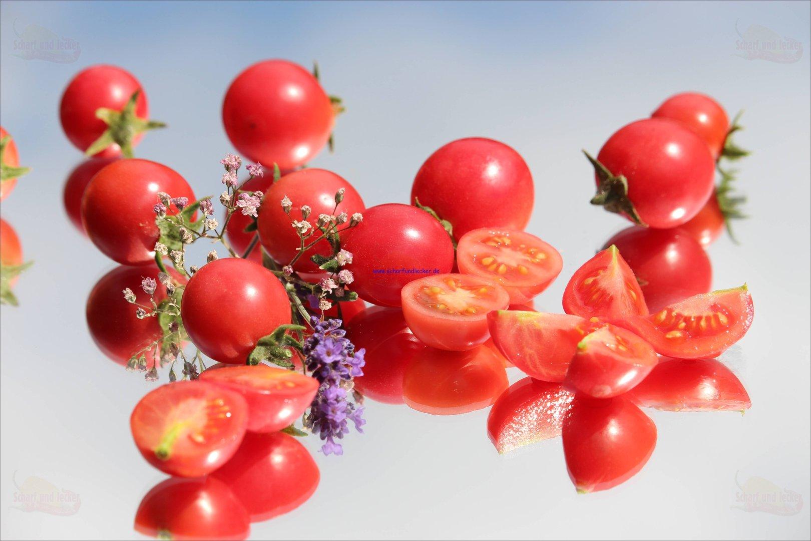 Frankreich ertragreich Kirschtomate a Tomatensamen: Cherrytomate Cerises 13